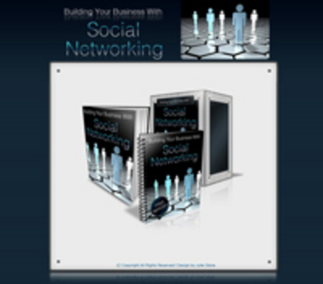 Product picture Building Your Business W/ Social Networking - Nichesite