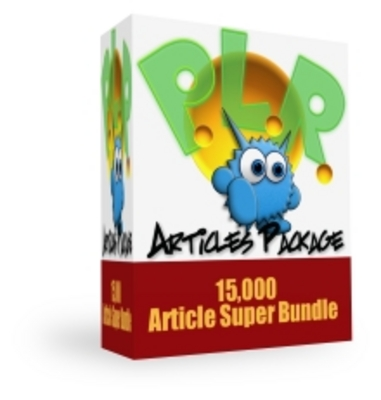 Product picture Monster PLR Article Package