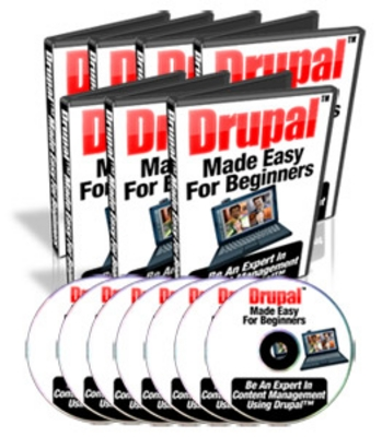 Product picture Drupal Made Easy For Beginners