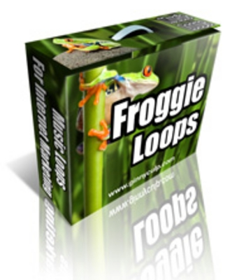 Product picture Froggy Loops PLR Music Royalty FREE